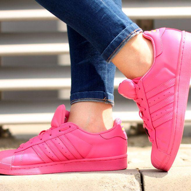 adidas supercolor rosa claro
