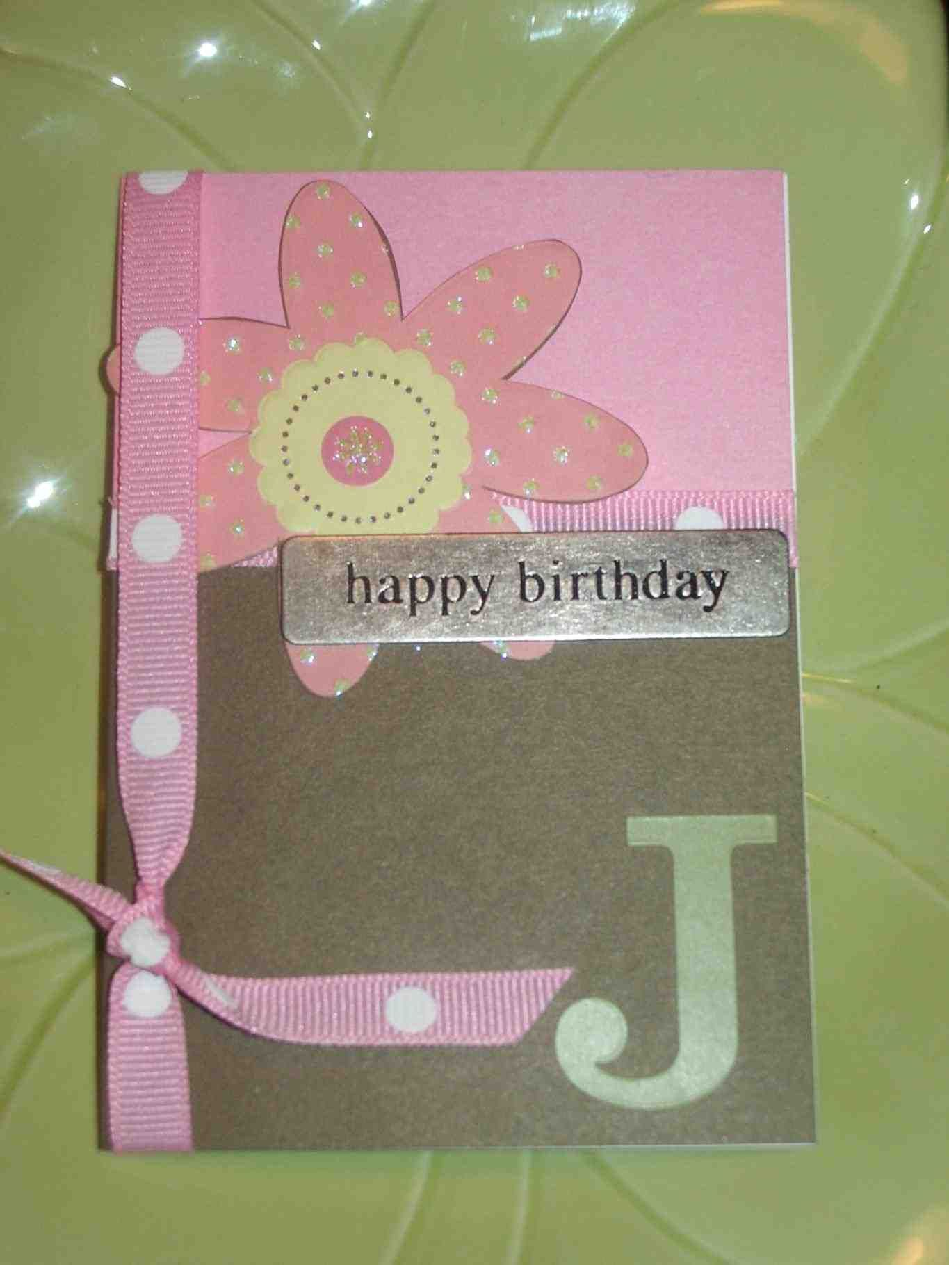 Diy birthday card simple candle with bow make a wish 10 10 different types of handmade greeting cards for birthday 13 diy birthday cards for dad to get ideas how to make m4hsunfo