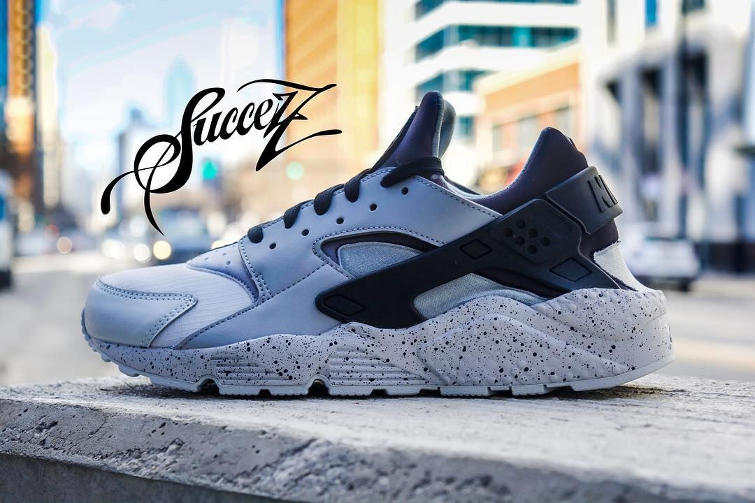 low cost dcc7b 0e31a Nike Air Huarache Run PRM Now Available  succezzthestore   Pure Platinum  Black Wolf Grey   8-15    120   312-431-1900 Or 312-SuccezZ   PayPal Orders  Are ...