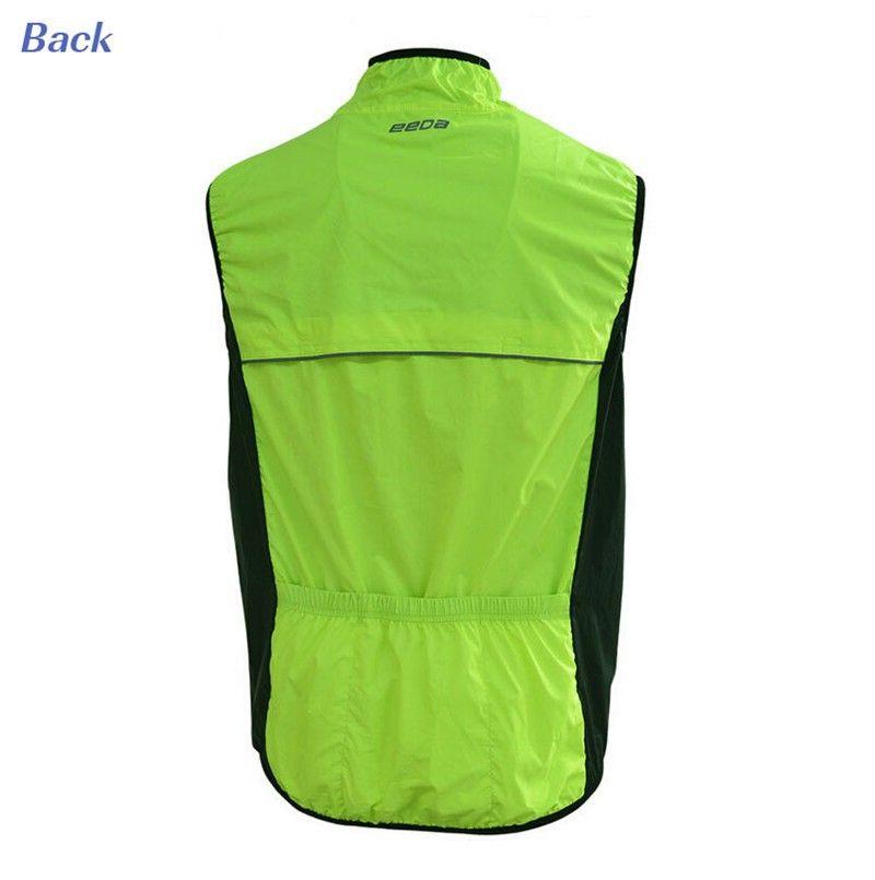 Windproof Waterproof Cycling Vests Summer Outdoors Bike
