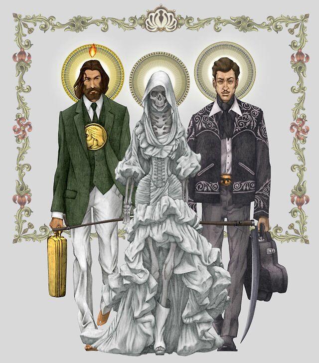 San Judas La Santa Muerte Y Malverde El Estigma De Una Creencia