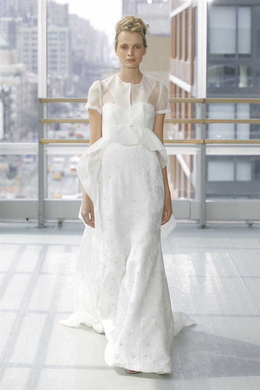 19334c97caa5 Tutte le collezioni sposa 2019 dalla New York Bridal Week