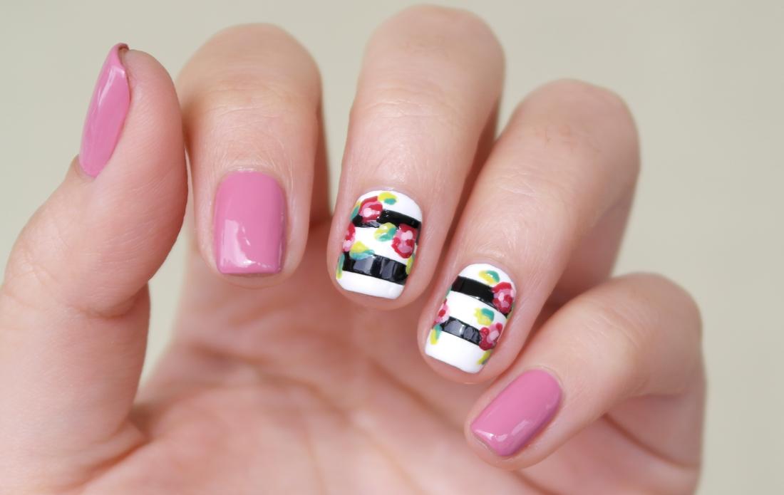 Tutorial Manicura San Valentín by @Manicute #NailArt #Manicure #MIAis5Free #NailPolishes
