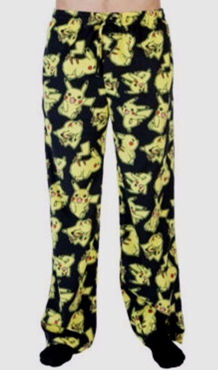 Men/'s Medium New Black Batman Print Fleece Pajama Lounge Pants