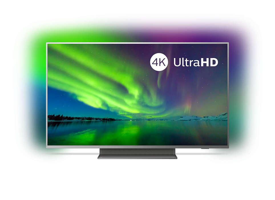 Televizor Led Philips 50pus7504 12 50 126 Cm Ambilight 3 Laturi 4kuhd 3840 2160 16 9 Hdr10 Dolby Vision Android 9 0 Memorie 16gb Căutare