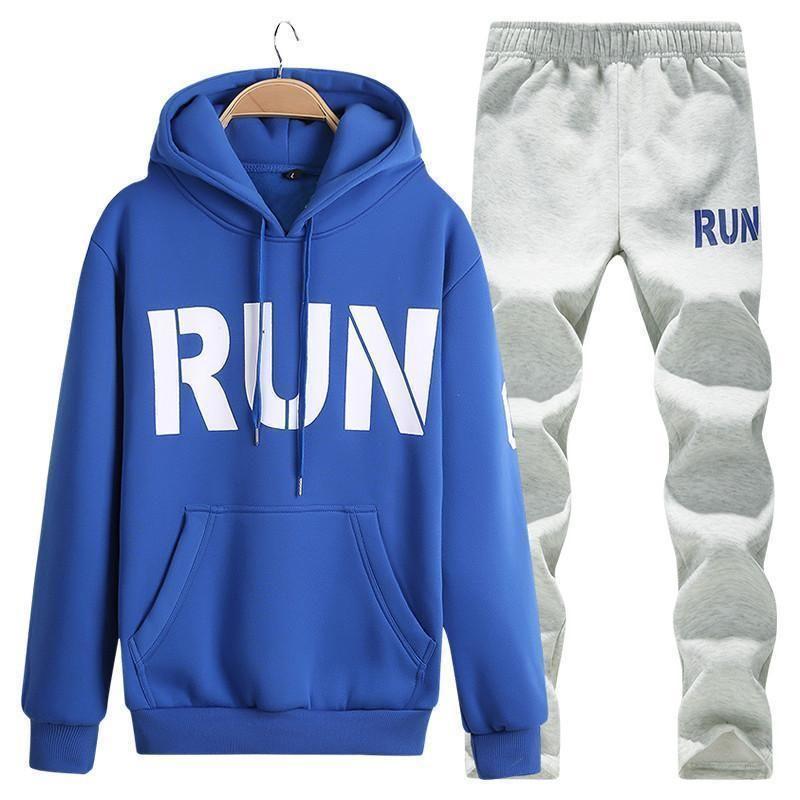 Blue Whirl Hoodies Men Women Autumn Winter Sportswear Tracksuit