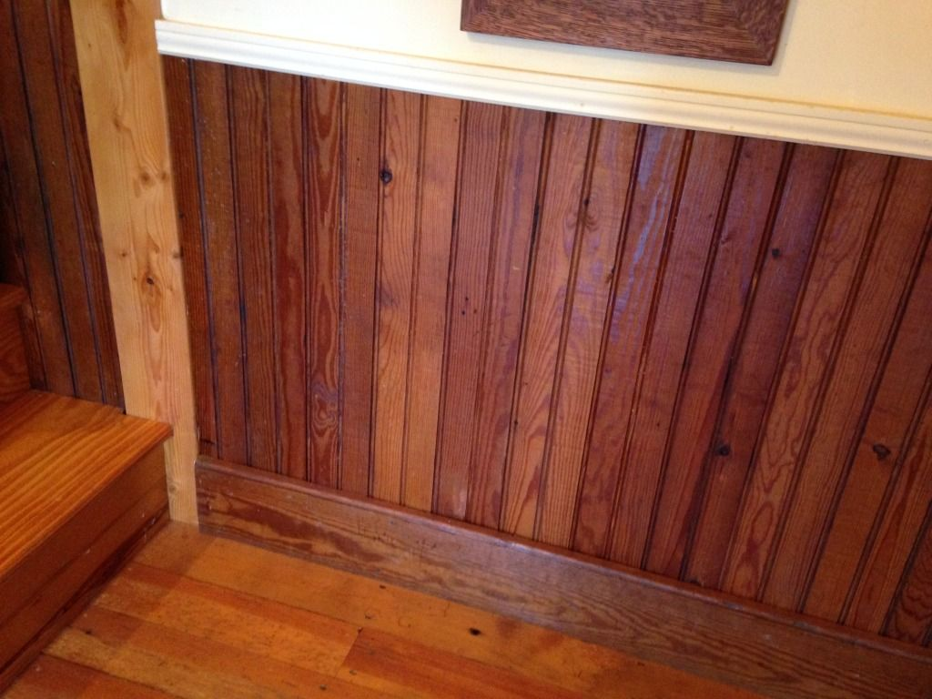 A Little Bit Of Salvaged Wainscoting Can Bring A Rustic