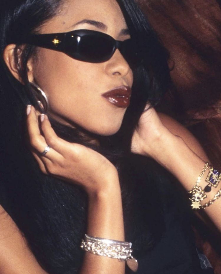 c88c5a6babbac Loving the jewelry and accessories. Rip Aaliyah
