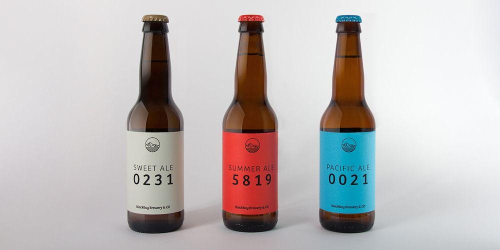 BlackBay Brewery & CO — The Dieline - Branding & Packaging