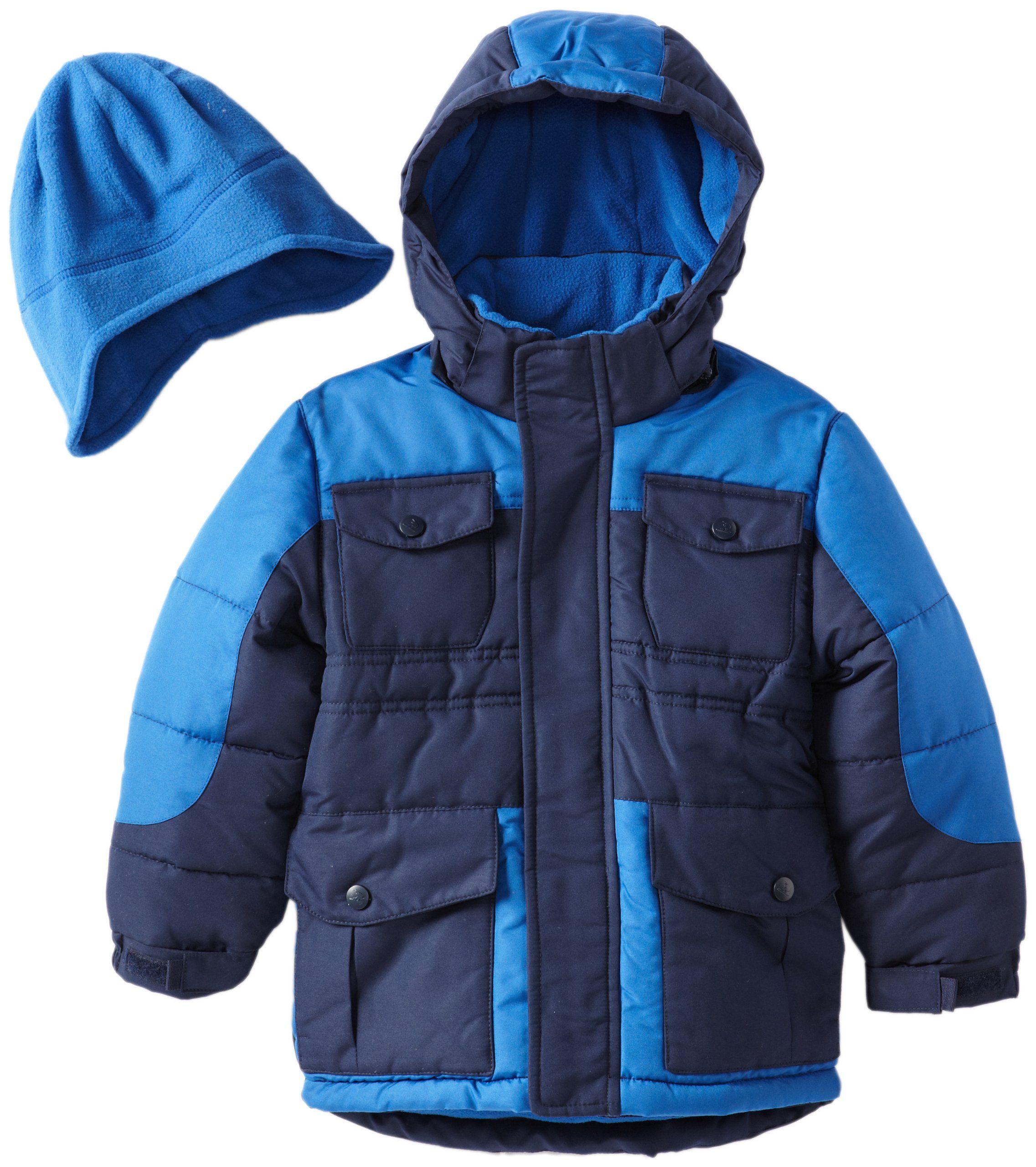 89b0738ad633 Rothschild Little Boys  Heavyweight Coat with Hat