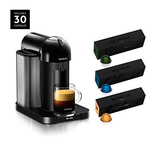 Nespresso Vertuo Coffee and Espresso Maker by Breville Now $99.99 (Was $232.95) **Today Only** #espressomaker Nespresso Vertuo Coffee and Espresso Maker by Breville Amazon has the Nespresso Vertuo Coffee and Espresso Maker by Breville with BEST SELLING COFFEES INCLUDED marked down from $232.95 to $99.99 with free shipping. This is a Gold Box Deal which means it is for today only or while supplies last. AUTOMATIC COFFEE/ESPRESSO MACHINE: Have the… #espressomaker