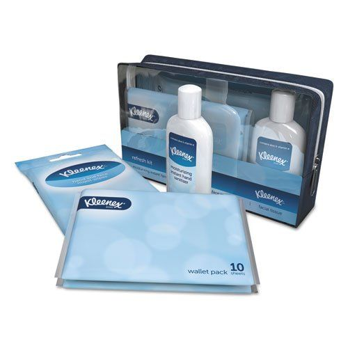 Kleenex Refresh Kit Hand Sanitizer Hand And Face Wipes Facial