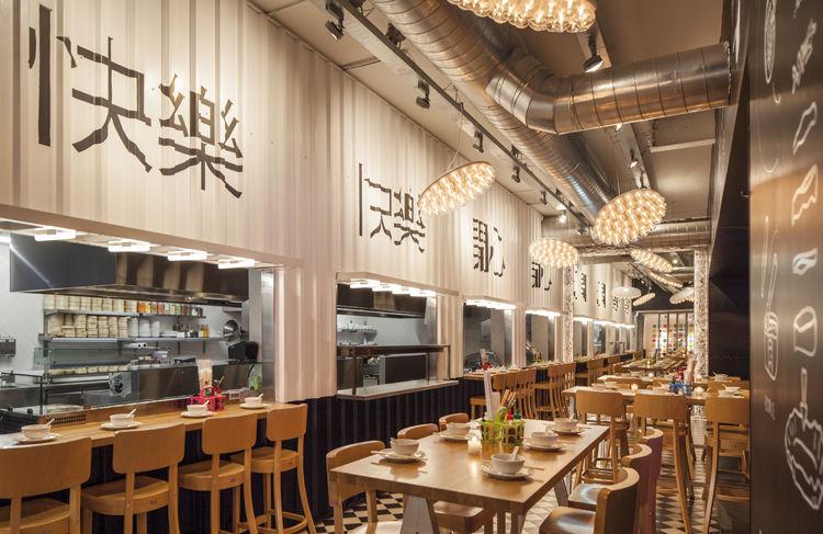Artwork Adorned Restaurants Em 2020 Design Inspiracao