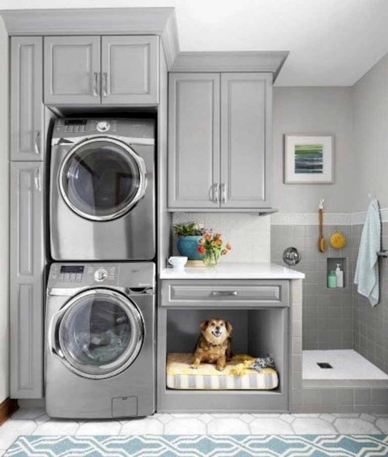 50 modern minimalist laundry room ideas for small space on extraordinary small laundry room design and decorating ideas modest laundry space id=44276