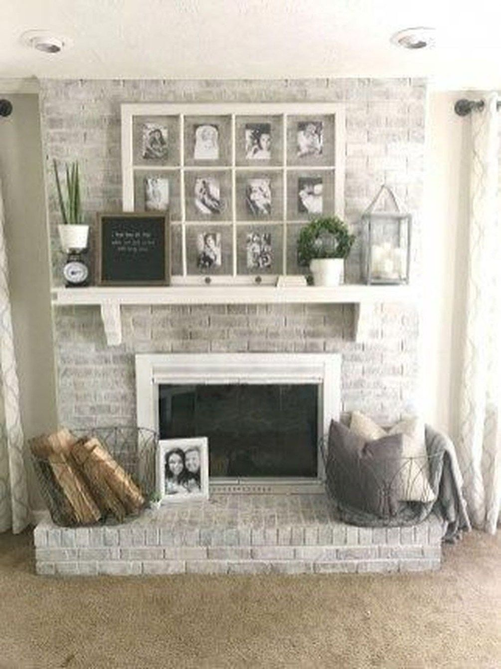 Photo of 46 Gorgeous Modern Farmhouse Fireplace Ideas You Should Copy Now