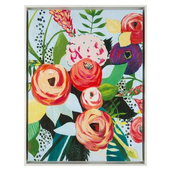 Get Modern Floral Canvas Wall Decor online or find other Canvas Art ...