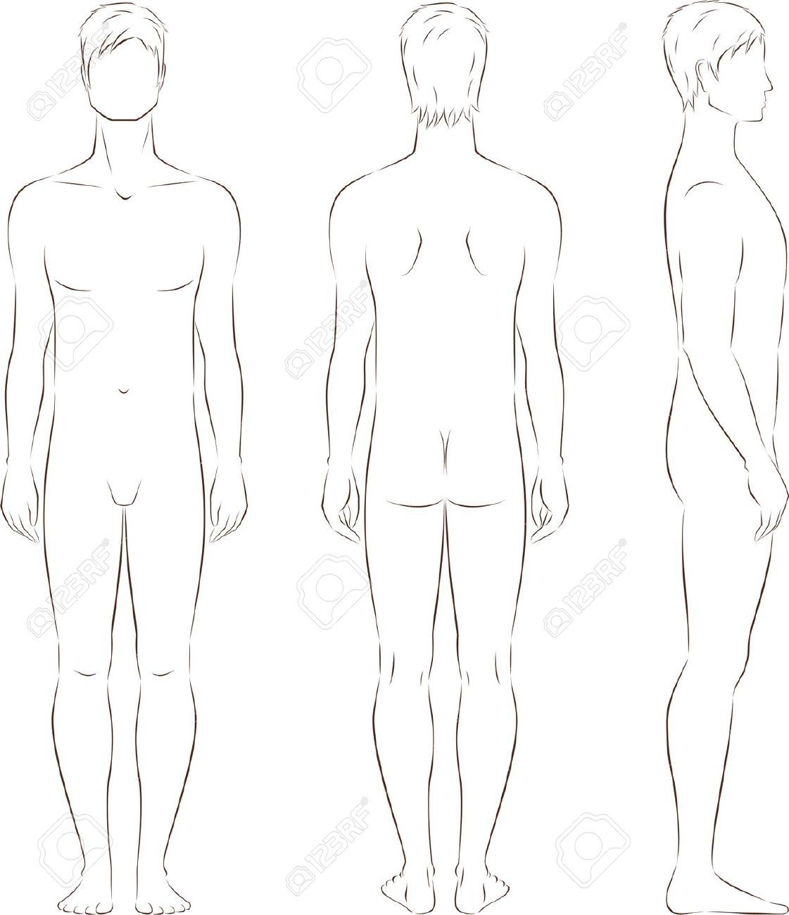 Dessin De Mode Silhouette Homme Recherche Google Figurines De