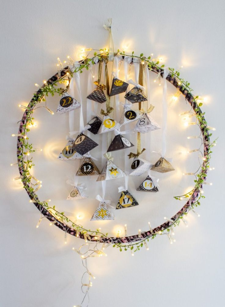 Hula-Hoop-Reifen Adventskalender