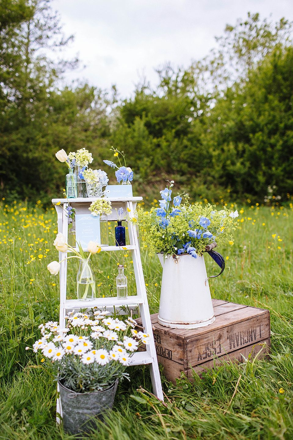 Late Spring/Early Summer Rustic Outdoor Wedding