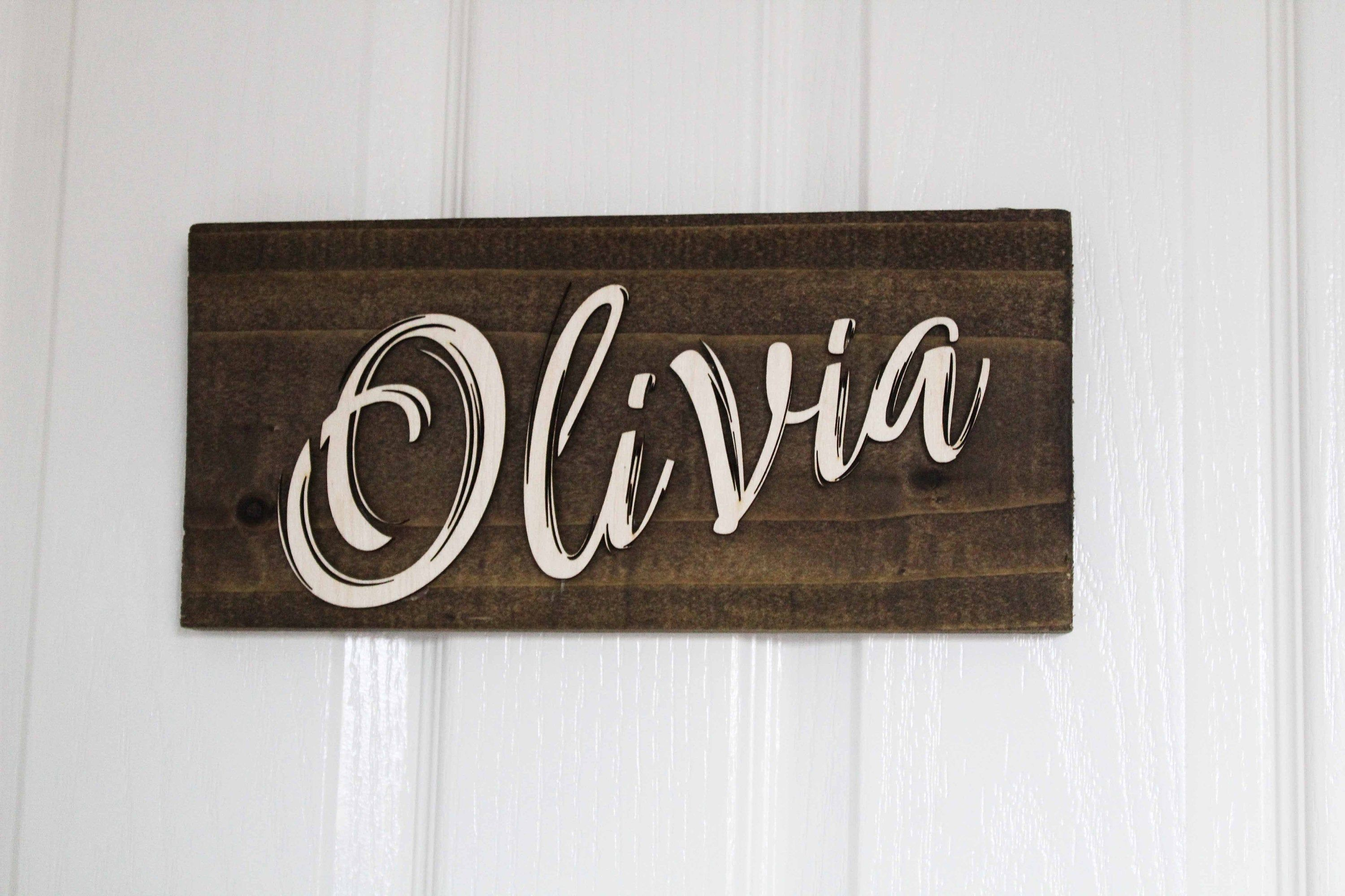 Personalised Bedroom Door Sign Name Rustic Wooden Pyrography Etsy Wooden Door Signs Rustic Wooden Sign Bedroom Door Signs