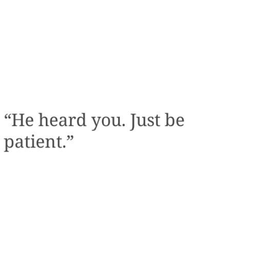 Patience discovered by November. on We Heart It