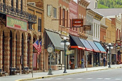 Deadwood, South Dakota. Actually all of South Dakota is amazing...Custer, Mt. Rushmore, Rapid City, The Badlands, Crystal Cave, and I could go on and on.