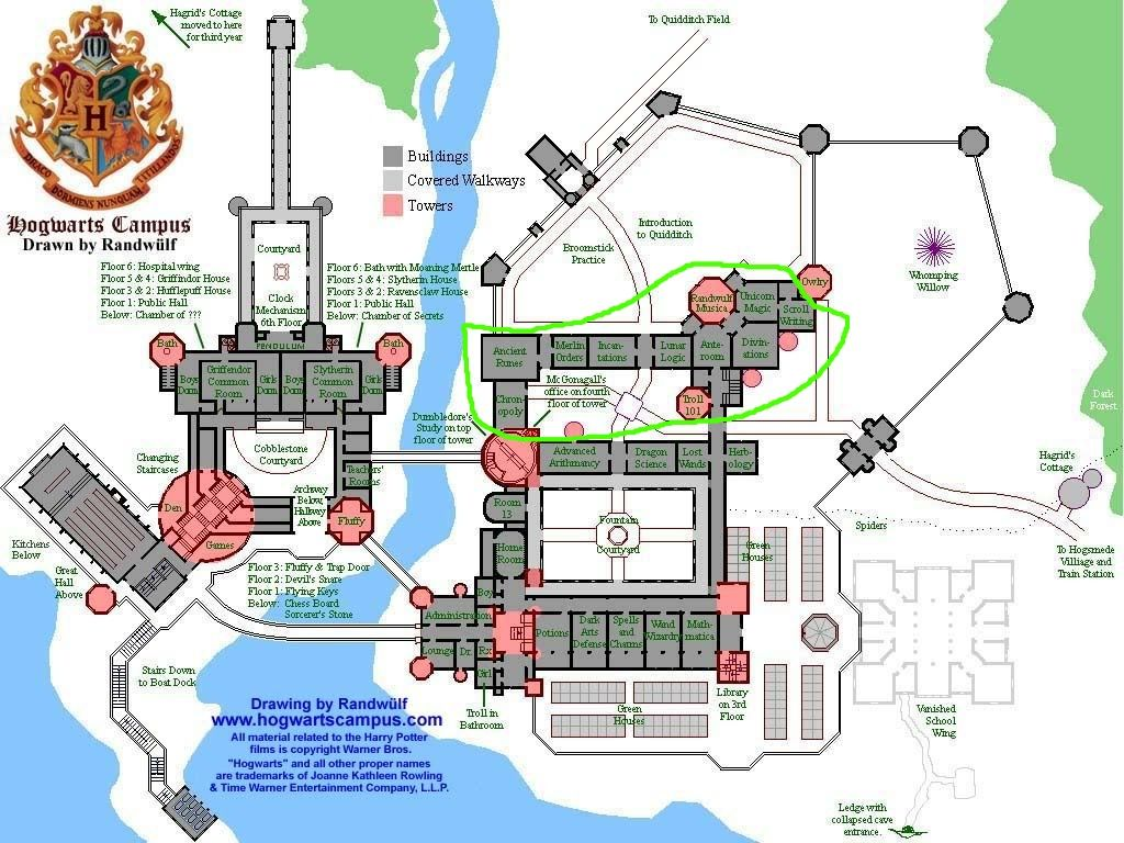 Minecraft Hogwarts Castle Blueprints Layer By Layer