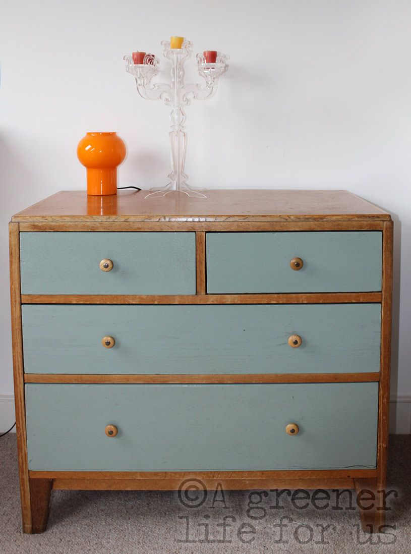 upcycling a 'found' vintage cupboard, into a funky usable ...