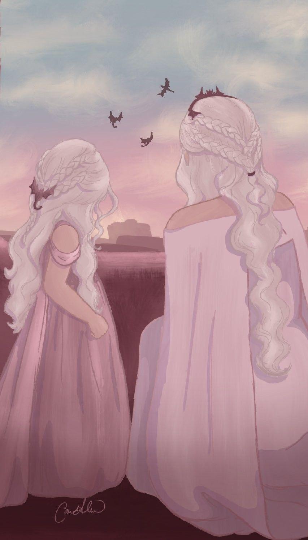 Daenerys Targaryen Fanart Game Of Thrones Art Targaryen Art