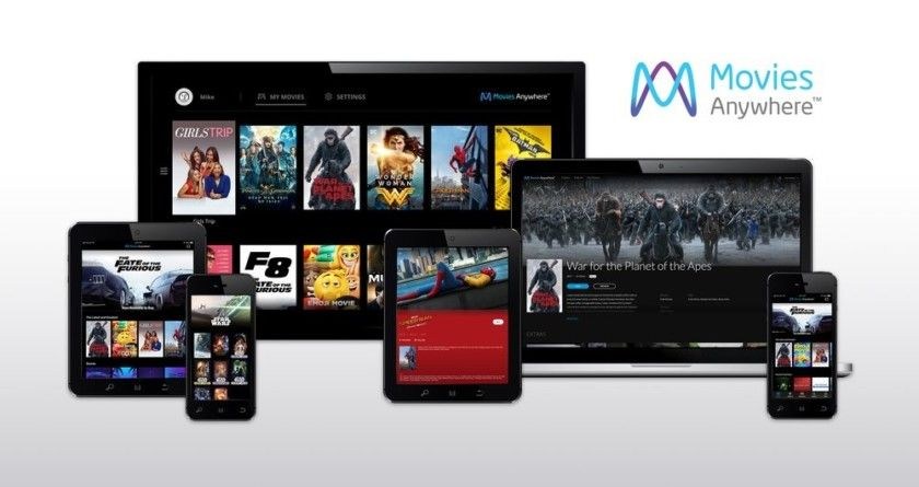 Movies Anywhere makes your digital movie library available