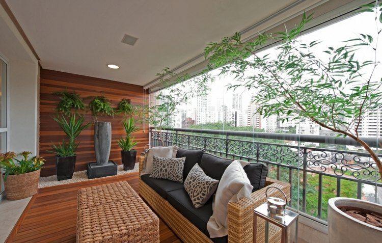 Balkon einrichten modern  Ideen für Balkongestaltung - modern und praktisch | Garten ...
