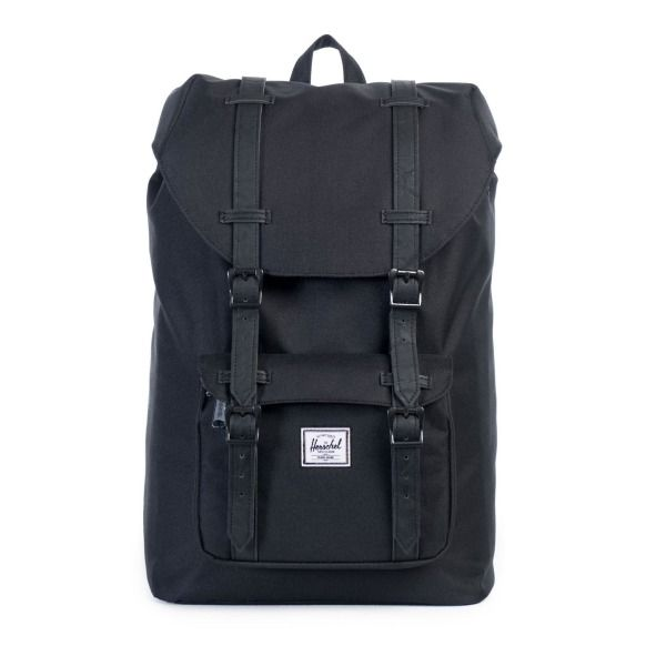 Little America Rubber, Black by Herschel Supply Co.
