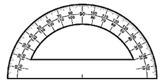 Fidning the Measurement of an Angle Using a Protractor: A