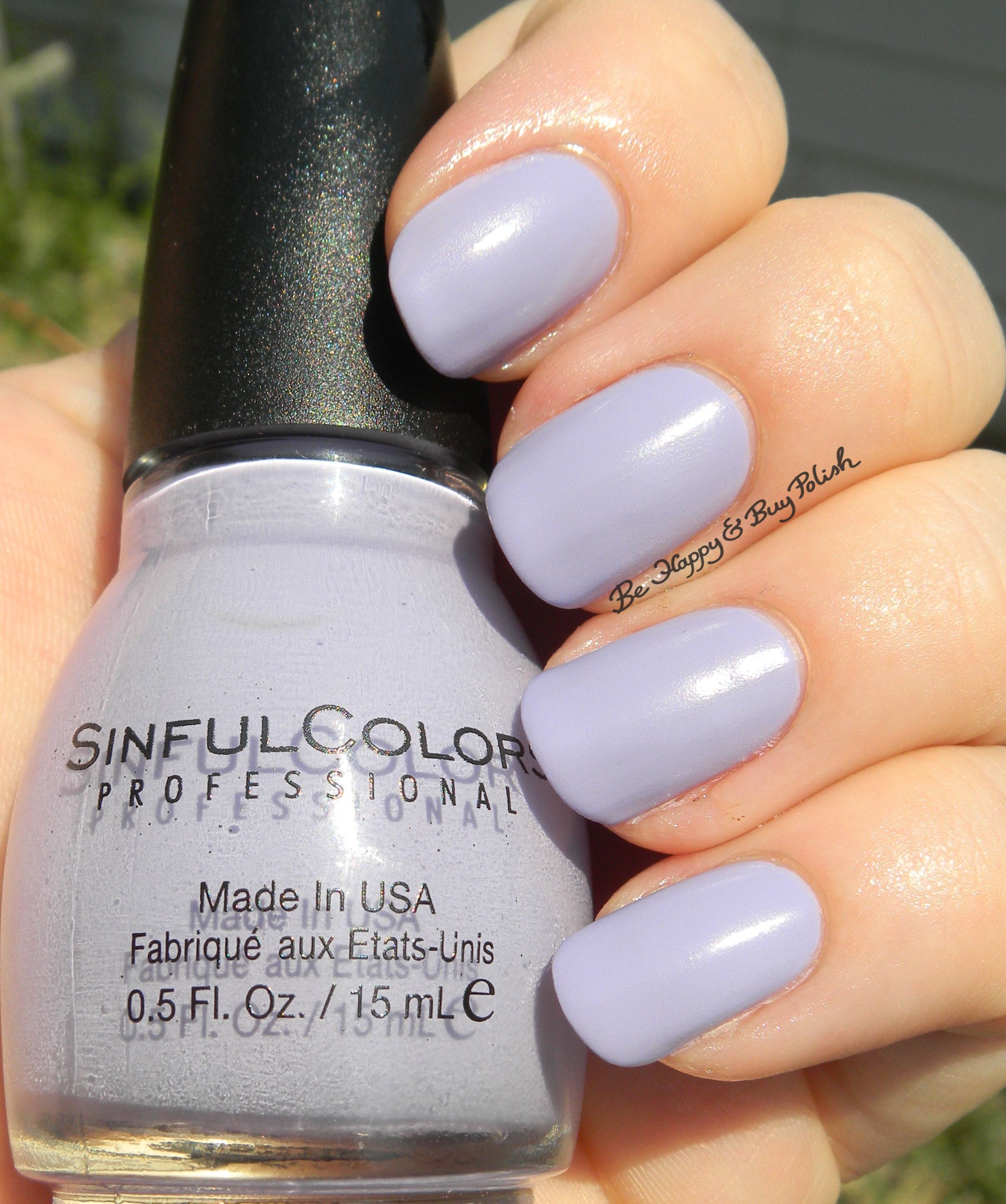 List Of Nail Polish Colors: Sinful Colors A Class Act Nail Polishes (partial