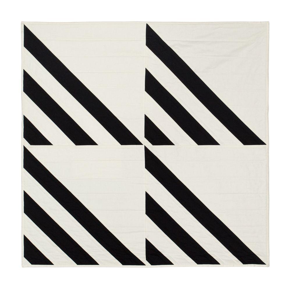 "Harbor, roman stripe variation thumb (front) 30""sq."