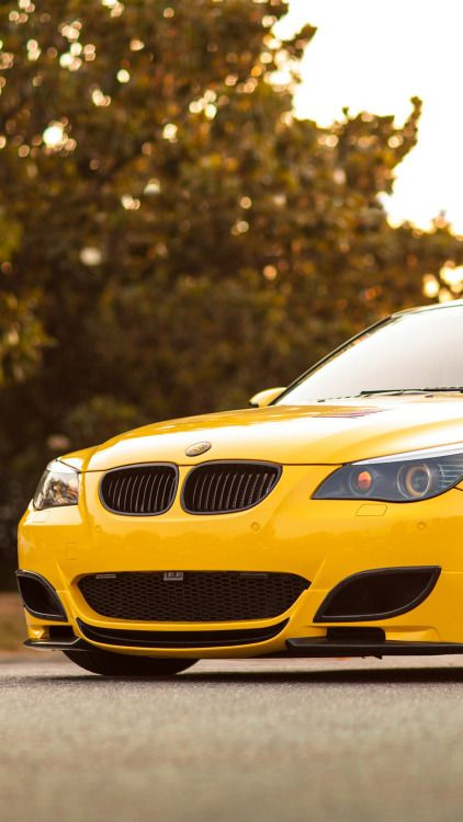 Yellow Bmw M5 Iphone 6 Hd Wallpaper Car Wallpapers Bmw Bmw Wallpapers