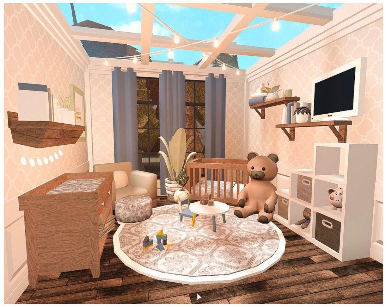 Bloxburg Baby Room Not Mine Luxury Baby Room Nurseries Luxurybabyroomnurseries Tiny House Layout Luxury Baby Room House Decorating Ideas Apartments