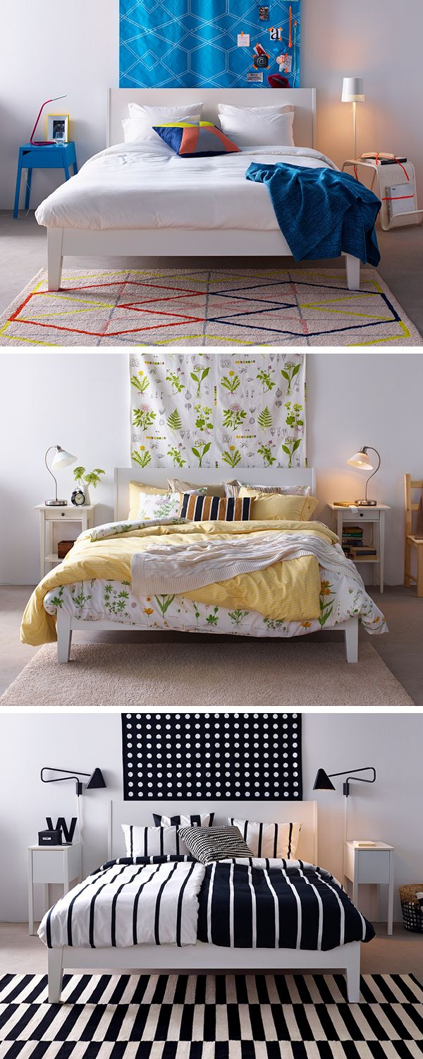 You don't need a new bed to give your bedroom a new style injection