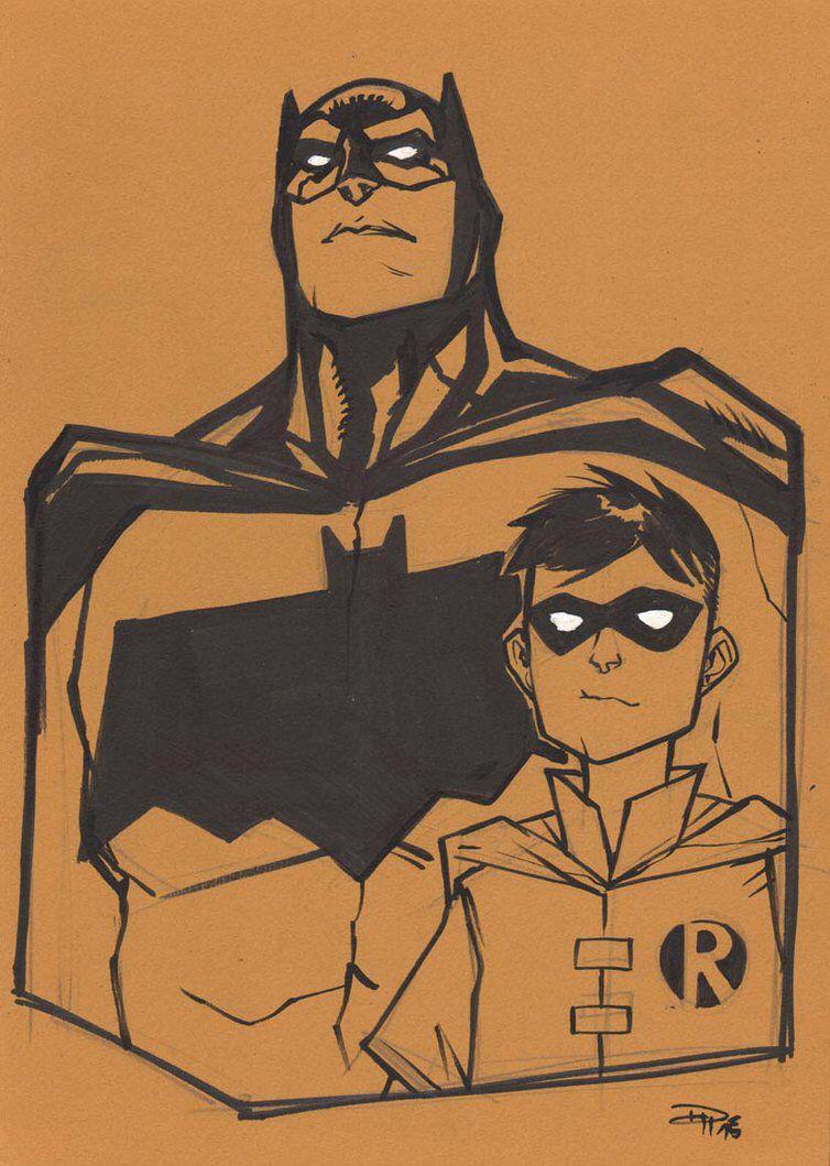 Batman and Robin MEFCC by DenisM79 on @DeviantArt