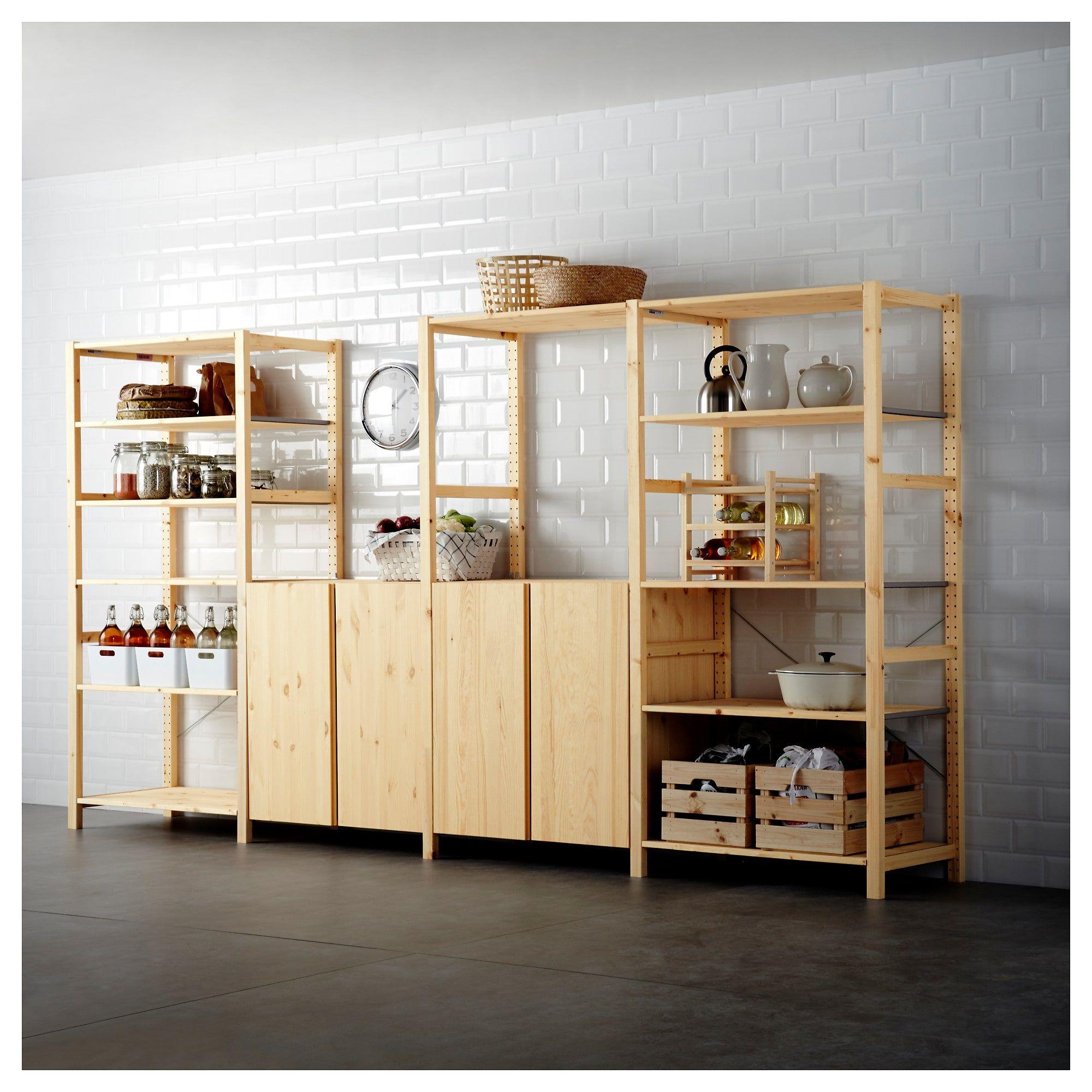 Beau IVAR 4 Section Shelving Unit   IKEA