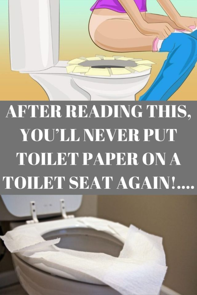 After you read this, you'll never put toilet paper