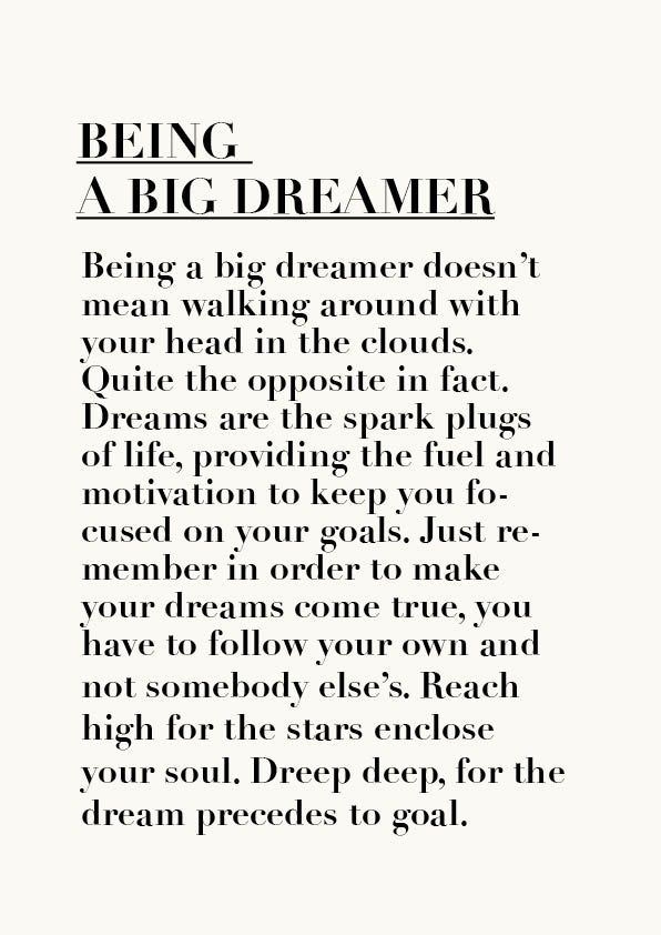 Dreamer Quotes Being A Dreamer  Simply Bee  Pinterest  Quotes Pics Truths And