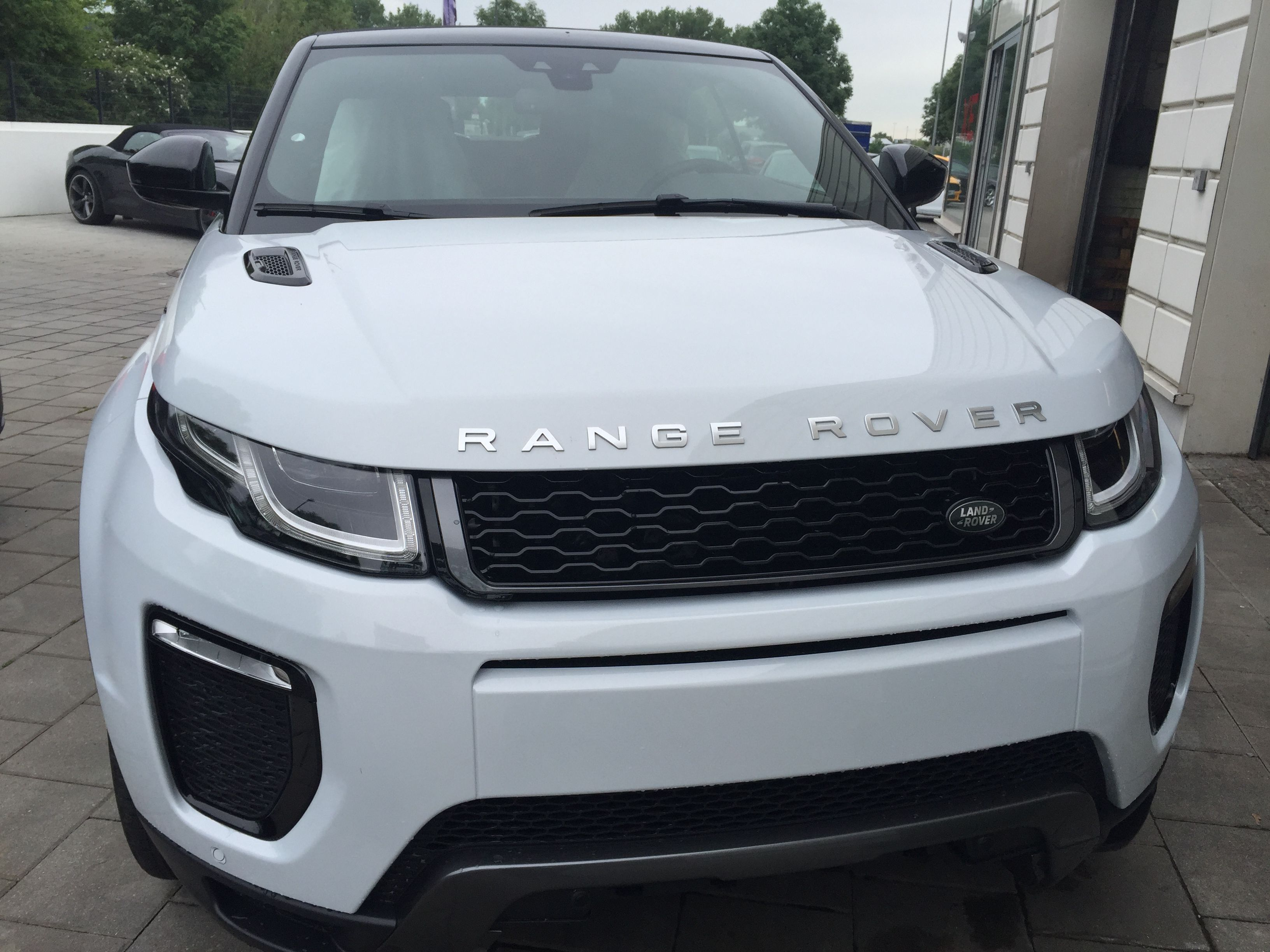 Range Rover Evoque Cabrio Wei White Fancy Ride Pinterest