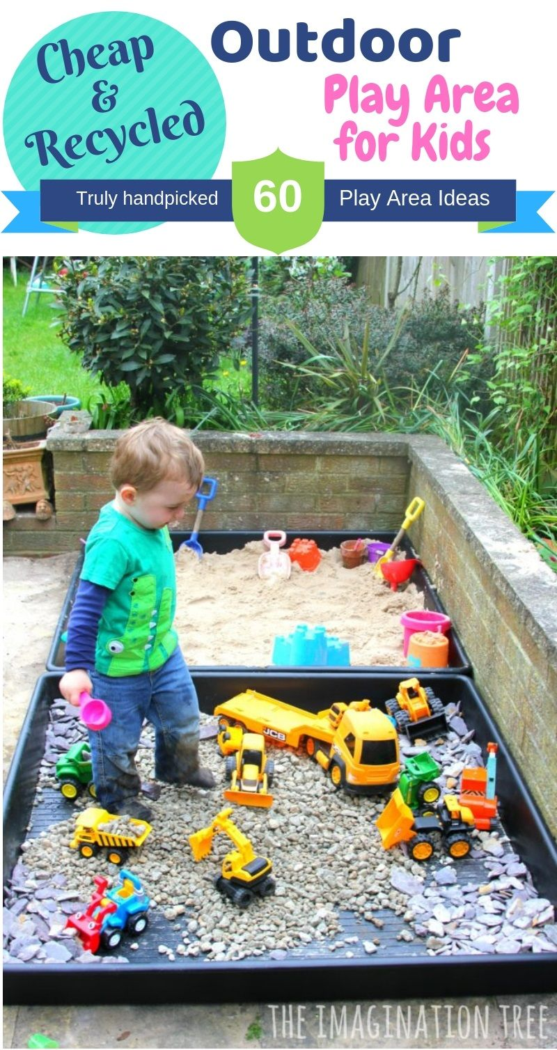 DIY Inexpensive Outdoor Play Area images