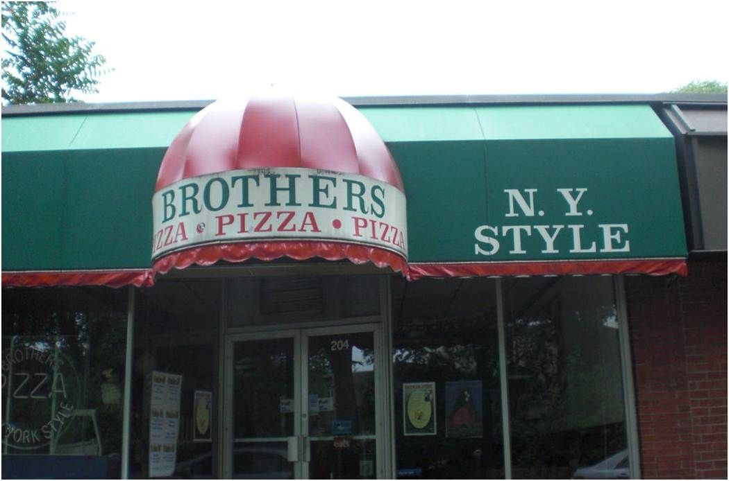 Brothers Pizza in State College. Great tasting pie for the Penn Staters in Happy Valley