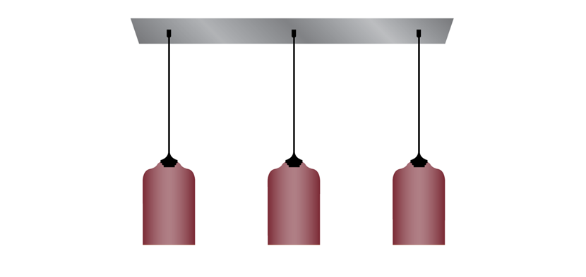 Multi pendant canopy electricians arent cheap so if youre three ways to hang multiple pendant lights mozeypictures Gallery