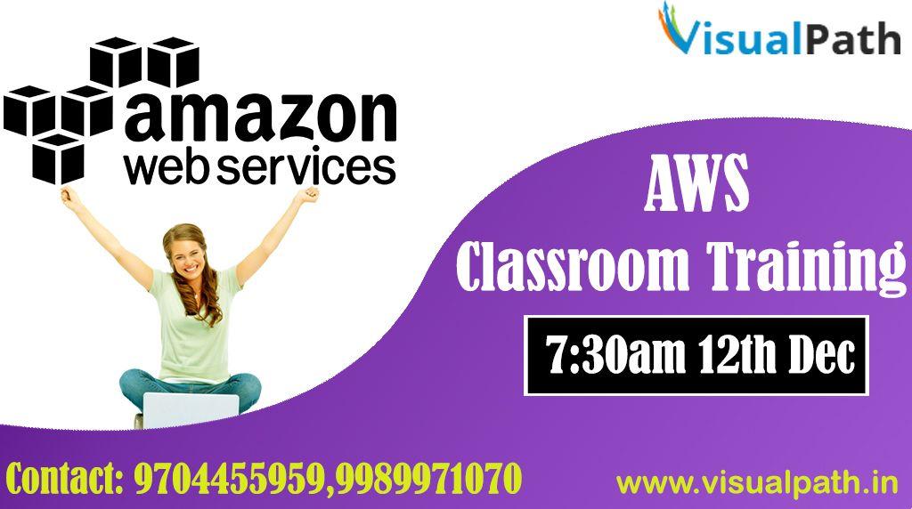 Amazon web services classroom training Classroom