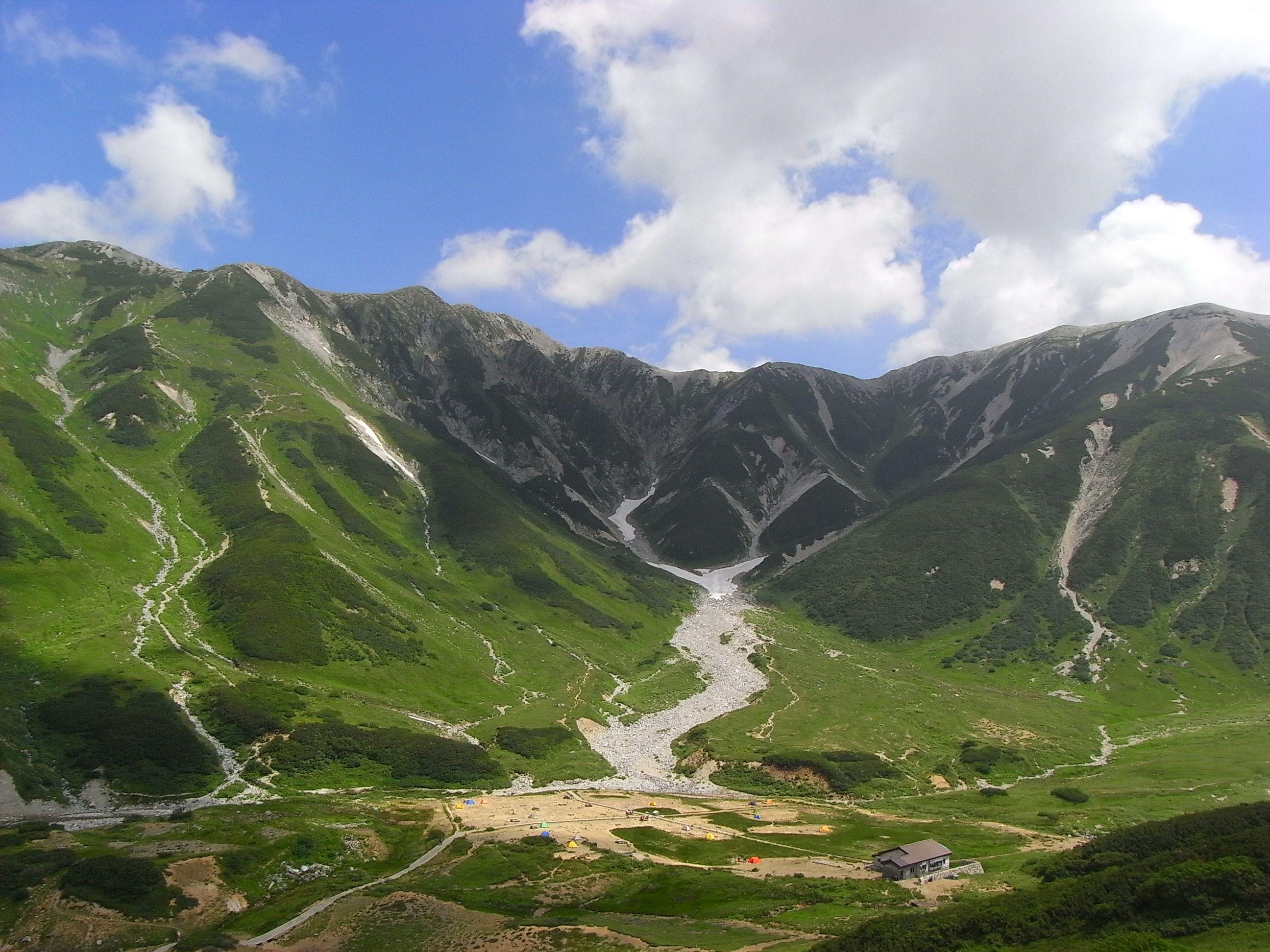 nature, mountain, tateyamakurobe alpen root (toyama) 立山黒部