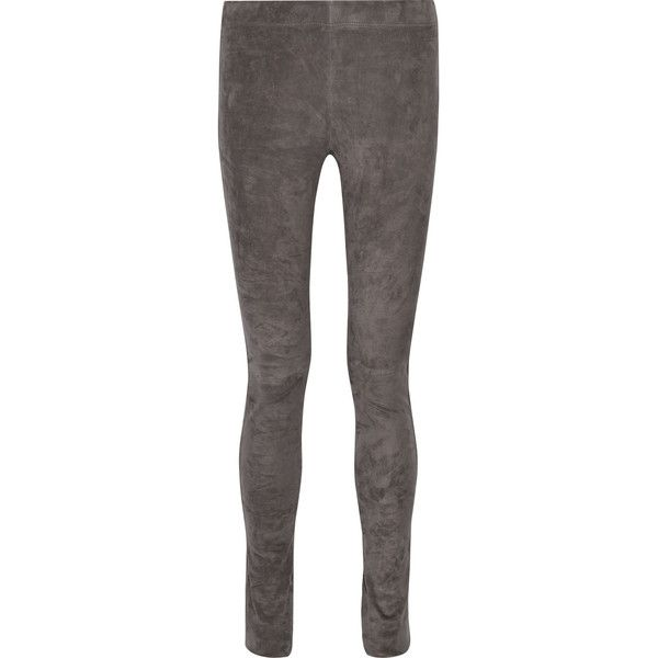 Stretch-suede trousers Joseph