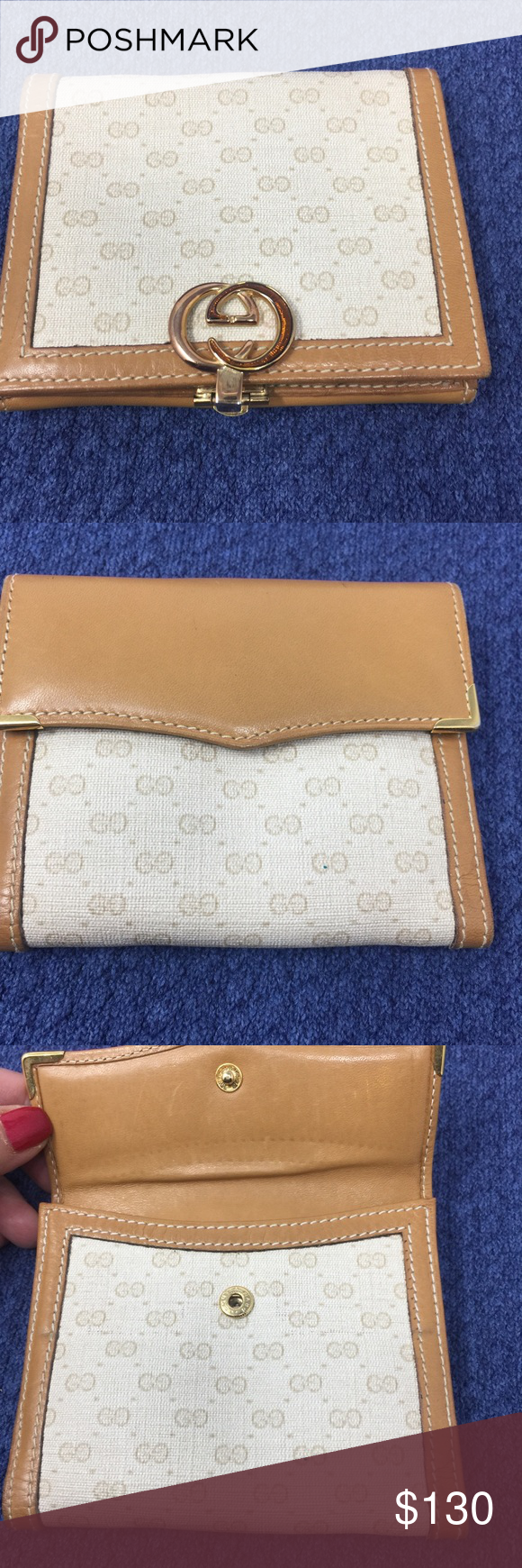 5d3cf3549 Preowned Authentic Gucci Wallet Condition: preowned, authentic Gucci Wallet  Made in Italy Serial Numbers: 035-922-7014 Outside: clean , Insider: clean  ...